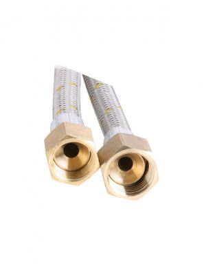 Gas Hose - 10mm Stainless Steel- 600mm
