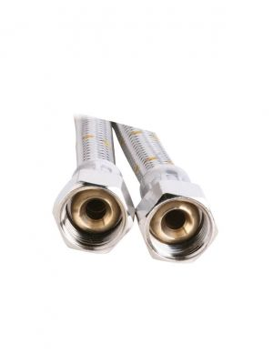 Gas Hose - 10mm Stainless Steel - 2000mm