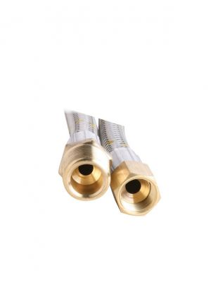 Gas Hose - 10mm Stainless Steel - 600mm