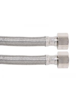 Water Hose - 10mm Stainless Steel Straight Connector - 600mm