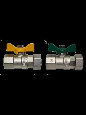 Bromic Gas/Water Female x Loose Nut Kit