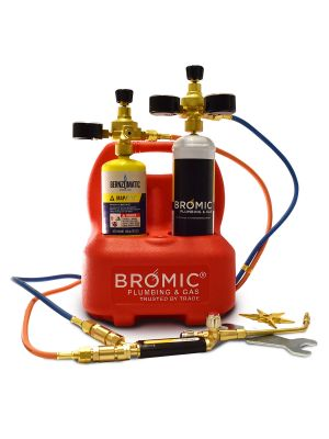 Bromic Oxyset Mobile Brazing & Welding System  with Gas