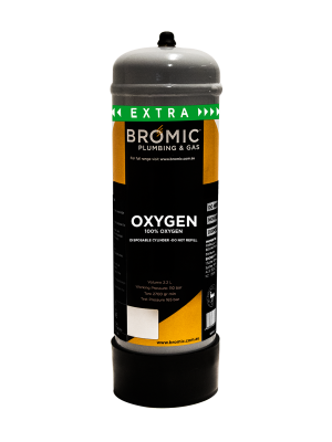 Bromic 2.2L Oxygen Disposable Cylinder