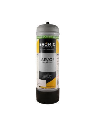 Bromic 2.2L Co2/Argon Mix Disposable Cylinder
