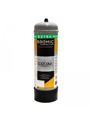Bromic CO₂/Ar (86/14) Gas Mix Disposable Cylinder 2.2 L