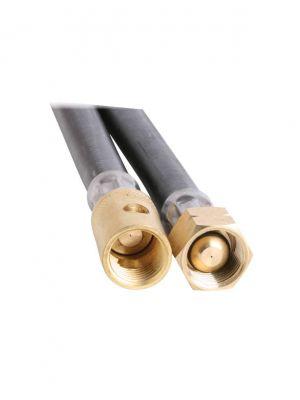 Gas Hose - 6mm Rubber - 450mm