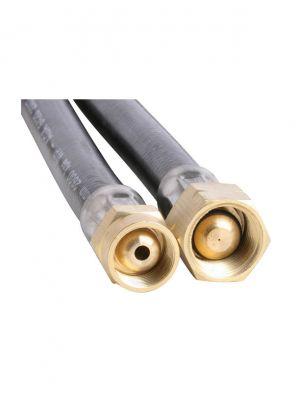 6mm PVC Gas Hose M14X1 x 3/8  BSP LH 6000mm