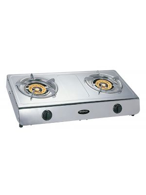 Wok Cooker LPG Deluxe Double Burner W/ Flame Failure