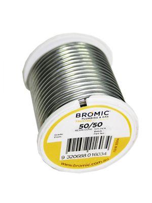 Bromic 50/50 Resin Core Solder Wire Spool - 250g